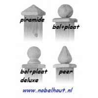 Paalornament Hout